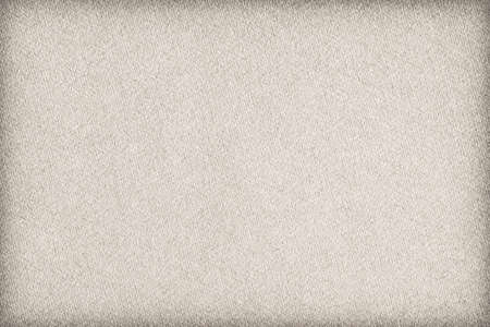 craft background: Photograph of Recycle Watercolor Paper, coarse grain, Beige, vignette, grunge texture sample.