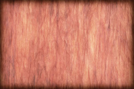 brownish: Natural Cherry Wood Brownish Red Veneer, bleached, stained, vignette, grunge texture sample.