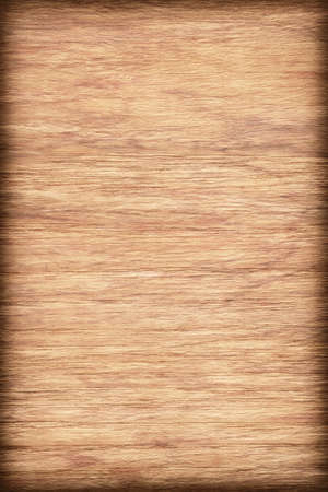 panelling: Natural Oak Wood Ocher bleached, stained, vignette, grunge texture sample.