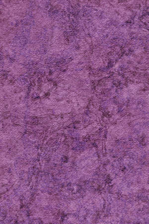 interspersed: Photograph of Recycle Watercolor Paper, coarse grain, light Deep Purple, bleached, interspersed with delicate irregular linear pattern, grunge texture. Stock Photo