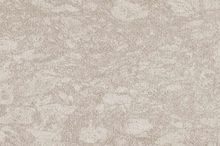 interspersed: Photograph of Recycle Watercolor Paper, coarse grain, light Grayish Beige, bleached, interspersed with delicate irregular linear pattern, grunge texture. Stock Photo