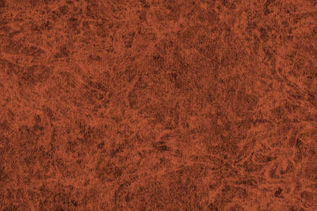 interspersed: Photograph of Recycle Watercolor Paper, coarse grain, light English Red, bleached, interspersed with delicate irregular linear pattern, grunge texture. Stock Photo
