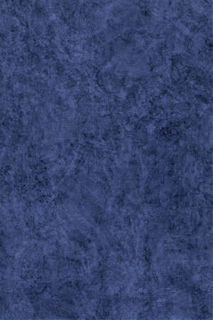 interspersed: Photograph of Recycle Watercolor Paper, coarse grain, light Navy Blue, bleached, interspersed with delicate irregular linear pattern, grunge texture. Stock Photo