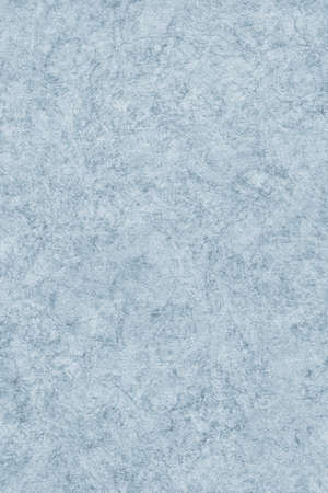 interspersed: Photograph of Recycle Watercolor Paper, coarse grain, light Powder Blue, bleached, interspersed with delicate irregular linear pattern, grunge texture. Stock Photo
