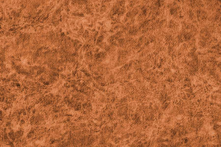 impurities: Photograph of Recycle Watercolor Paper, coarse grain, light Red Ocher, bleached, interspersed with delicate irregular linear pattern, grunge texture.