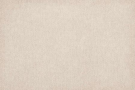 Artist Beige Primed Linen Duck Canvas, coarse grain grunge texture. Фото со стока