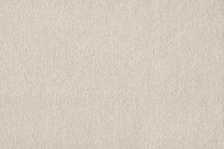 coarse: Artist Beige Primed Linen Duck Canvas, coarse grain grunge texture. Stock Photo