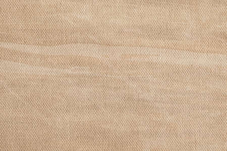 Artist Beige Primed Linen Duck Canvas, coarse grain, bleached, mottled, stained, vignette grunge texture. photo