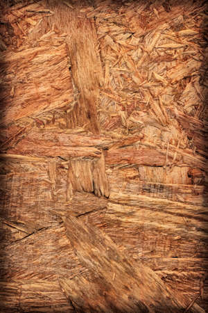 provisional: Wooden chipboard reverse side, rough, extra coarse, vignette surface texture detail.