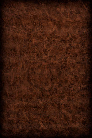 blotted: Photograph of Recycle Striped Charcoal Black Pastel Paper, bleached, mottled, coarse grain, vignette grunge texture