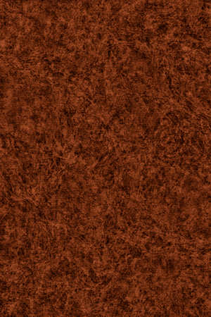 blotted: Photograph of Recycle Striped Dark English Red Pastel Paper, bleached, mottled, coarse grain, grunge texture sample.