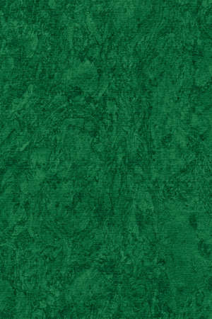 blotted: Photograph of Recycle Striped Jade Green Pastel Paper, bleached, mottled, coarse grain, grunge texture sample.