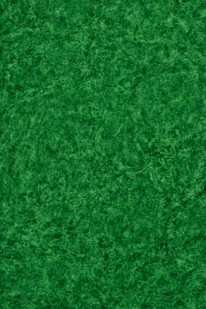 kelly: Photograph of Recycle Striped Kelly Green Pastel Paper, bleached, mottled, coarse grain, grunge texture sample.