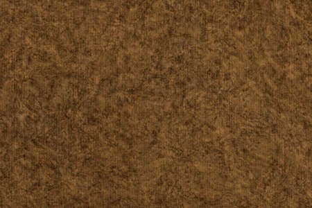 grain grunge: Photograph of Recycle Striped Raw Umber Brown Pastel Paper, bleached, mottled, coarse grain, grunge texture sample. Stock Photo