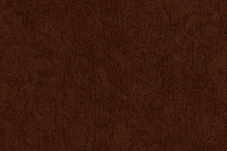 Photograph of Artist Burnt Umber Primed Cotton Duck Canvas coarse, bleached, mottled, grunge texture. photo