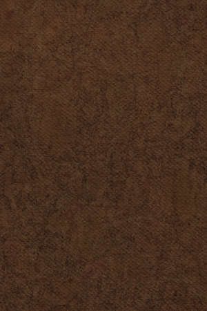 Photograph of Artist Raw Umber Primed Cotton Duck Canvas coarse, bleached, mottled, grunge texture. photo
