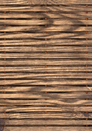 hi res: Old cracked, knotted Pine wood Place Mat grunge Texture. Stock Photo