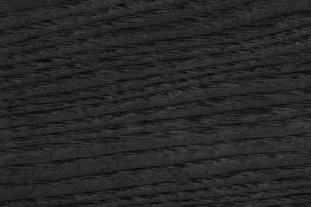 lacquered: Maple Wood Veneer Stained Charcoal Black Grunge Texture. Stock Photo