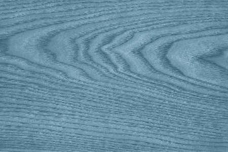 veneer: Maple Wood Veneer, Bleached and Stained Marine Blue Grunge Texture. Stock Photo