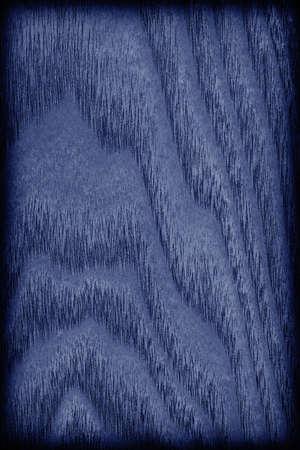 maple wood texture: Maple Wood Veneer Stained Dark Navy Blue vignette grunge texture.