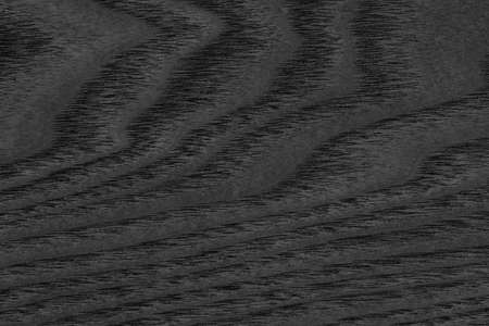 maple wood texture: Maple Wood Veneer Stained Charcoal Black Grunge Texture. Stock Photo