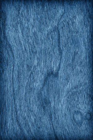 cherry hardwood: Cherry Wood Stained Dark Marine Blue Vignette Grunge Texture Sample.