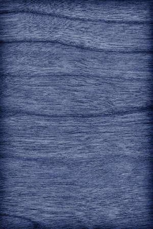 azul marino: Madera de cerezo blanqueado y Manchado Azul marino Vignette Grunge textura de la muestra.