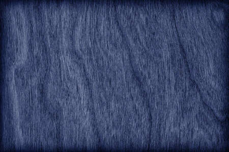 cherry hardwood: Cherry Wood Bleached and Stained Navy Blue Vignette Grunge Texture Sample.