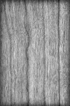 cherry hardwood: Natural Cherry Wood Veneer Bleached Dark Gray Vignette Grunge Texture. Stock Photo
