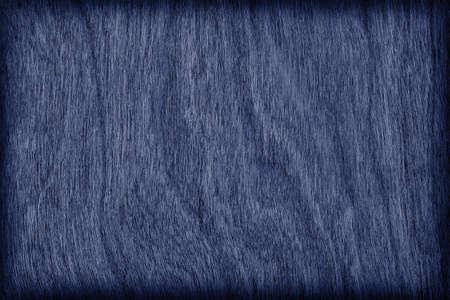 azul marino: Cherry Wood Bleached and Stained Navy Blue Vignette Grunge Texture Sample.