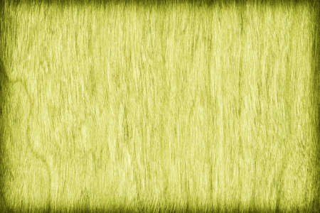 cherry hardwood: Cherry Wood Bleached and Stained Lime Yellow Vignette Grunge Texture Sample.