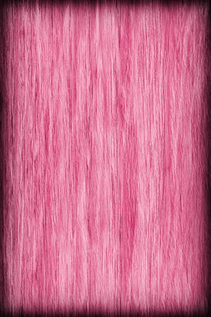 vibrant background: Oak Wood Bleached and Stained Magenta Vignette Grunge Texture Sample.
