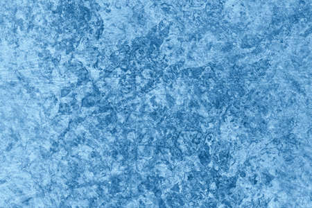 Photograph of old Blue animal skin parchment, creased, coarse grained, grunge texture sample.