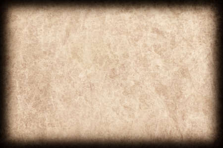 vellum: Photograph of Old Natural Animal Skin Parchment, Coarse, Vignette Grunge Texture Sample.
