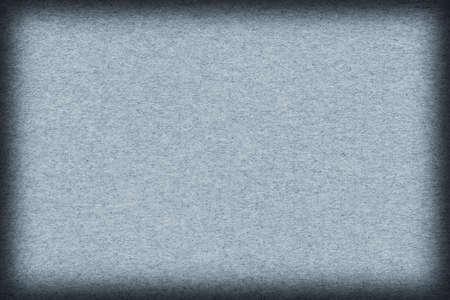 impurities: Old Blue Recycle Kraft Paper, coarse grain, crumpled, grunge vignette texture sample.
