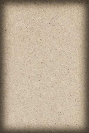 light brown: Photograph of recycle, Light Brown Kraft Paper, coarse grain vignette grunge texture.