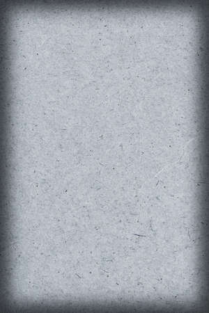 powder blue: Photograph of recycle, Light Pale Powder Blue kraft Paper, coarse grain vignette grunge texture. Stock Photo
