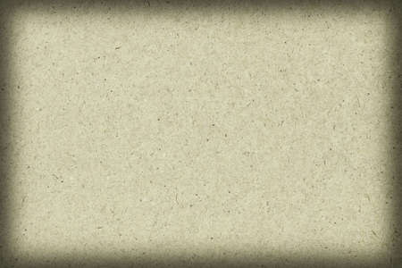 impurities: Photograph of recycle, Light Pale Lime Yellow Kraft Paper, coarse grain vignette grunge texture.