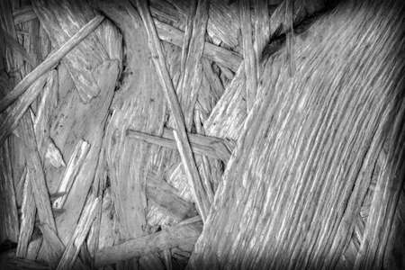 chipboard: Chipboard Bleached and Stained Dark Gray, Rough, Extra Coarse, Vignette Grunge Texture Detail.