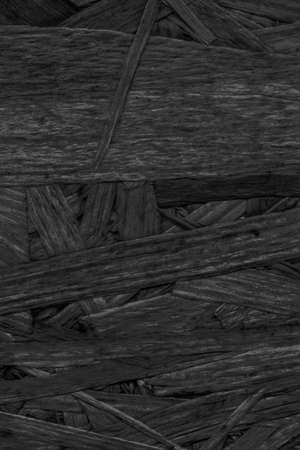 chipboard: Chipboard Charcoal Black Stained, Rough, Extra Coarse, Grunge Texture Detail.