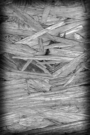 provisional: Chipboard Bleached and Stained Dark Gray, Rough, Extra Coarse, Vignette Grunge Texture Detail.