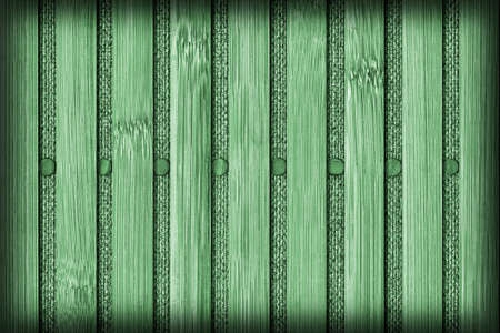 kelly: Bamboo Mat Handiwork, Bleached and Stained Kelly Green, Vignette Grunge Texture Sample.