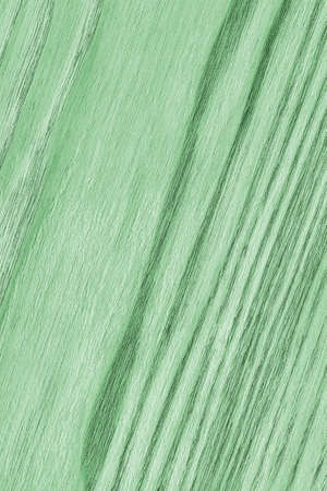 kelly: Oak Wood, Bleached and Stained Pale Kelly Green, Grunge Texture Sample. Stock Photo