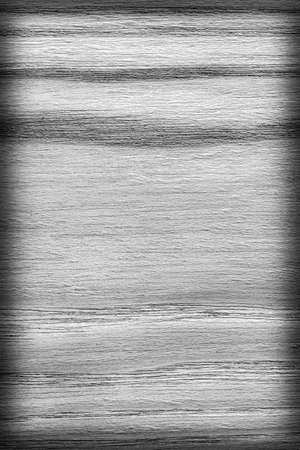 desaturated: Oak Wood, Bleached and Stained Dark Gray, Vignette, Grunge Texture Sample.