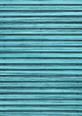 varnished: Old Wooden Mat, Bleached and Stained Cyan , Varnished, Weathered, Cracked, Scratched, Grunge Texture.