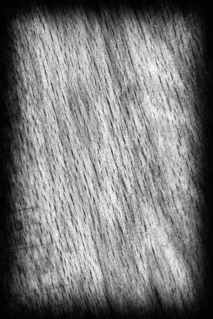 beech wood: Old Beech Wood, Bleached and Stained Dark Gray, Vignette, Grunge Texture Sample.
