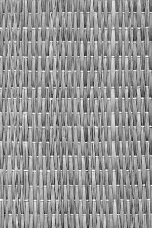 straw mat: Straw Mat Weave Pattern, Bleached and Stained Dark Gray, Grunge Texture Sample.