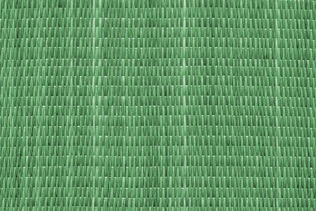 kelly: Straw Place Mat, Bleached and Stained Pale Kelly Green, Grunge Texture Sample.