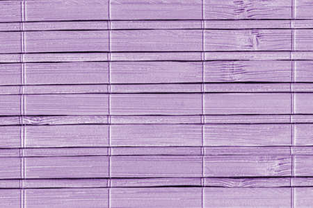 bamboo mat: Bamboo Mat, Bleached and Stained Pale Purple, Grunge Texture Sample.
