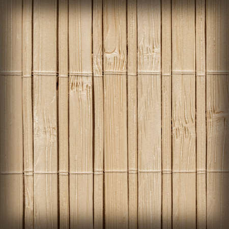bamboo mat: Bamboo Mat, Natural Beige, Vignette, Grunge Texture Sample.